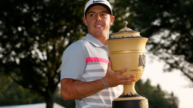 It was in 2014 that McIlroy claimed the title at Firestone. Photo: Gregory Shamus/Getty Images
