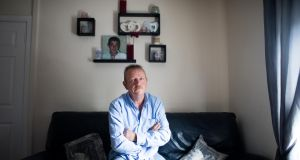 "Noel Burke, father of Mark Burke. ""It was not unusual for Mark to go missing for weeks on end, says Noel, ""but we'd always know where to find him"". Photograph: Tom Honan"