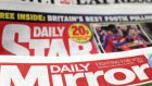 "Title synergies: ""Mirror"" publisher Reach now owns the ""Daily Star"" in the UK, although it awaits clearance for the 50% stake in the ""Irish Daily Star"". Photograph: PA"