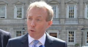 Fianna Fáil communications spokesman Timmy Dooley said a proposed new minister for the media is 'about the preservation and protection of quality journalism'. Photograph: Alan Betson.