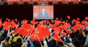 President Xi Jinping has held a hard stance and crackdown on graft and corruption in public government offices since coming to power in 2012. Photograph: STR/AFP/Getty Images