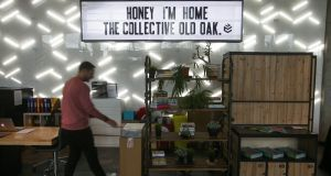 A co-living property owned by The Collective in London, Britain. Photograph: Daniel Leal-Olivas/AFP/Getty Images