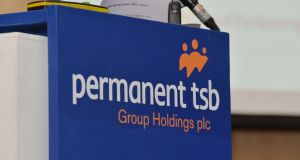 Permanent TSB rose 9.37 per cent on the back of the sale of its project Glas non-performing loan portfolio. Photograph: Alan Betson