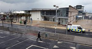 The ferry terminal has lain empty since 2015 when sailings ceased. Photograph: Eric Luke/The Irish Times