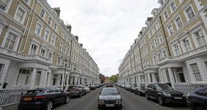 Central London's best areas have suffered the most. Photograph: Chris Ratcliffe/Bloomberg