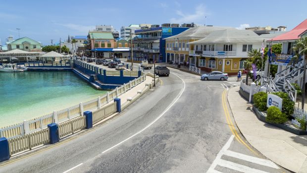 George Town, the capital of Grand Cayman. Photograph: iStock