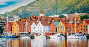 Bergen: Disney's 'Frozen' features the city's landscape and architecture. Photograph: iStock