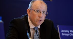 "Permanent TSB chief executive Jeremy Masding. About 7,400 of the PTSB loans relate to private homes, and 2,500 of these are deemed ""not co-operating"". Photograph: Eric Luke"