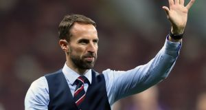 Gareth Southgate led England to the World Cup semi-finals in Russia. Photograph: Owen Humphreys/PA