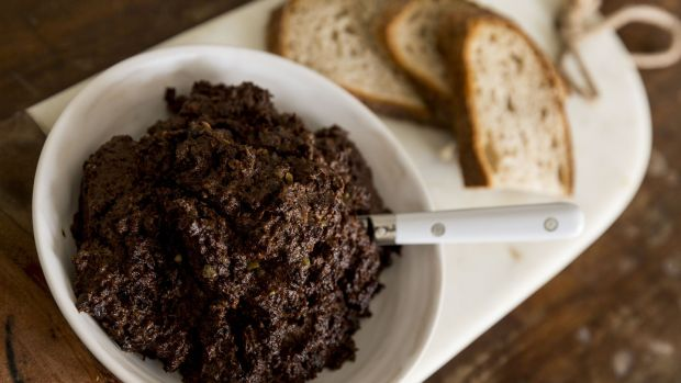 Tapenade: The addition of brandy is interesting but not vital.