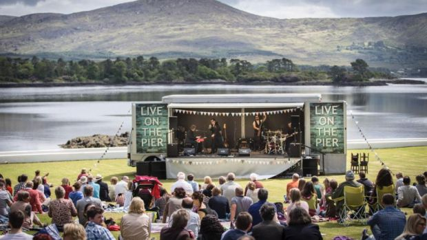Jack L 'Live on the Pier' at Dromquinna, Kenmare Co Kerry