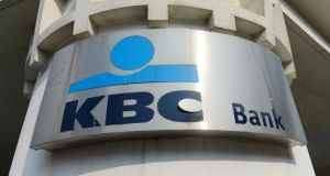 KBC Bank Ireland is due to release results on Thursday. Photograph: Bryan O'Brien