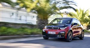 BMW i3:  Like the current crop of hybrids on the road, it recycles resistant energy from braking and the like.
