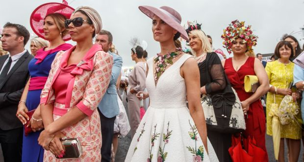 ff3f6b9f947e Ladies  Day at Galway Racing Festival. Photograph  James Crombie Inpho