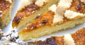 Crosata tart can be served at room temperature, but gently warming it  loosens the filling.  Photograph: iStock