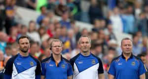 Tipperary selectors' Declan Fanning, Conor Stakelum, manager Michael Ryan and selector John Madden have all stepped down from their positions. Photo: James Crombie/Inpho