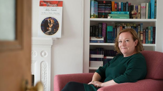 Mills & Boon author Daisy Cummins, who writes under the pseudonym 'Abby Green'. Photograph: Dave Meehan for The Irish Times