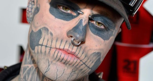 Tattoo Model Rick Genest Zombie Boy Dies Aged 32