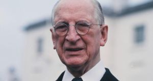 Éamon de Valera: in 1966 the then minister for education Donogh O'Malley said it was 'impossible to conceive of anybody voting against de Valera except those who want to witness another attempt at a fascist dictatorship'. Photograph:  Colman Doyle