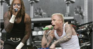 Electric Picnic: The Prodigy will play this year's festival. Photograph: Dara Mac Dónaill/The Irish Times