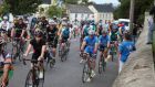Cyclists  in the annual Breffni 3 Province Challenge  fundraiser in Arvagh, Co Cavan