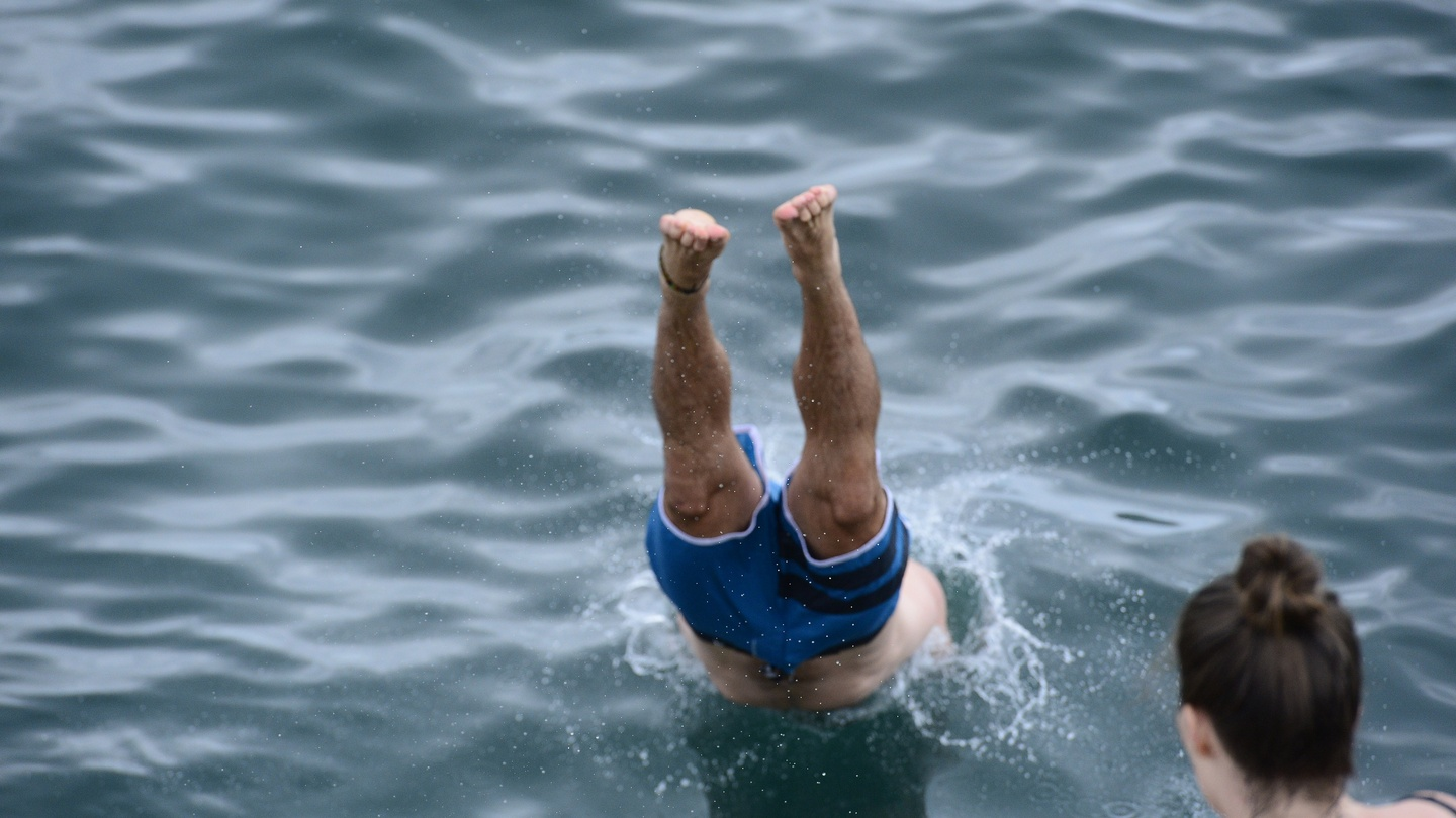 Swimmers urged to exercise caution when jumping into water