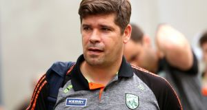Kerry manager Eamonn Fitzmaurice has stepped down following his team's 2018 Championship exit. Photograph: James Crombie/Inpho