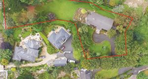Maple Tree House site (outlined in red) purchased by Bartra for €3.17million