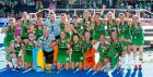 Ireland team: on a sure footing for next summer's European Championships in Belgium and their qualification process for the Tokyo Olympics in 2020. Photograph: ©INPHO/Morgan Treacy