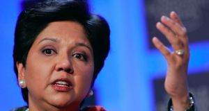 Indra Nooyi has been with the company for 24 years