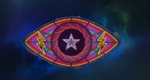 The new-look neon Big Brother eye. Photograph: Channel 5/PA Wire