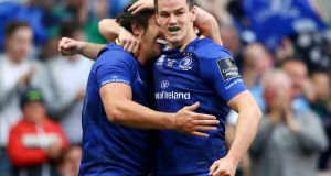 Johnny Sexton is the new Leinster captain. Photograph: James Crombie/Inpho