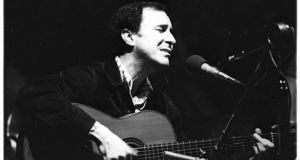 João Gilberto circa 1960. A recent announcement of his death, on Twitter, turned out to be exaggerated. Photograph: Tom Copi/Michael Ochs Archives/Getty Images