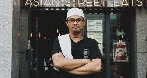 Chef  Kwong Yew Liew will be making vegan sushi at the Vegan in Ireland event in Kyoto Asian Street Eats