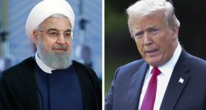 Donald Trump's decision to reimpose sanctions against Iran will undermine moderates such as president Hassan Rouhani, who had staked a great deal on the nuclear agreement, and allow hardliners to reassert control. Photograph: Sergei Chirikov/EPA-EFE, Shawn Thew