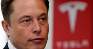 Tesla's  chief executive Elon Musk: has resisted selling new shares this year even though rating agency Moody's and many Wall Street analysts have argued he should build a bigger financial cushion.  Photograph: Reuters