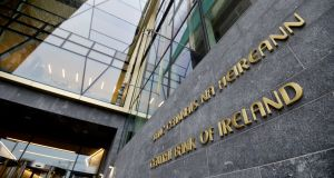 Central Bank: warned it was dealing with an unprecedented volume of applications for licences to operate in the Republic. Photograph: Alan Betson