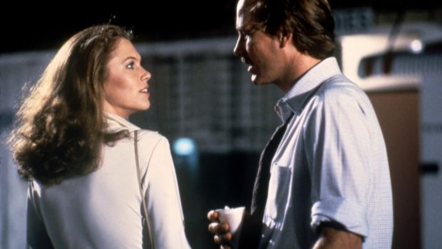 Kathleen Turner with William Hurt in Body Heat (1981)