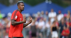 Bayern Munich's defender Jerome Boateng has told José Mourinho he is not interested in joining Manchester United. Photo: Christof Stache/Getty Images