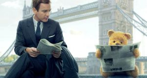 Ewan McGregor as Christopher Robin with . . . Winnie the Pooh
