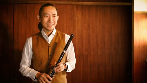 Kozo Toyota is a Fleadh Cheoil veteran - this will be his seventh year playing in the competition. Photograph: Mizuho Fukahori