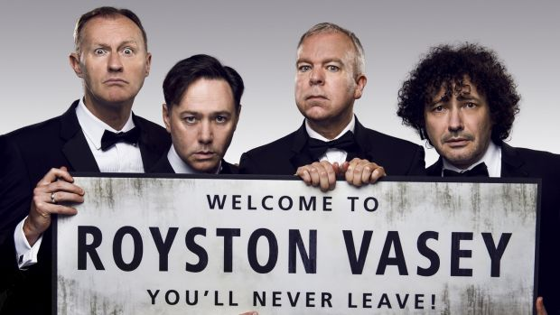 The League of Gentlemen: Mark Gatiss, Reece Shearsmith, Steve Pemberton and Jeremy Dyson