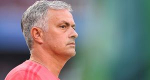 José Mourinho is 'not confident' Manchester United will make any more signings before the end of the transfer window. Photograph: Lukas Barth-Tuttas/EPA