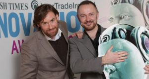 VStream founders Niall O'Driscoll and Andrew Jenkinson. The digital marketing specialist  secured its financing through the Irish peer-to-peer lender Flender.