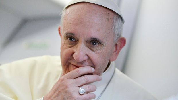 Pope Francis was born in December 1936 in Argentina. File photograph: Luca Zennaro/Reuters