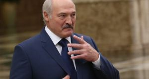 Belarussian president Alexander Lukashenko: critics accuse Mr Lukashenko of launching his latest attack on those who challenge him in the media or political arena. Photograph: Mikhail Svetlov/Getty Images