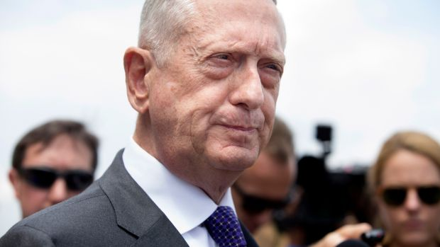 US Secretary of Defence Jim Mattis endorsed plans to reorganise the military's space fighting forces . Photograph: EPA