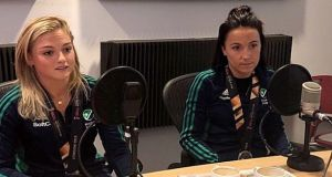 Chloe Watkins  and Anna O'Flanagan in conversation with the Irish Times Women's Podcast.