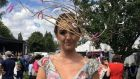 Leah Kelly's hat resembled a gust of wind blowing through feathers with a mélange of floating quills, according to its creator Derek Montgomery, a milliner based in Mullingar, Co Westmeath.