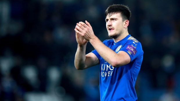 Harry Maguire was one of Mourinho's transfer targets. Photo: Mike Egerton/PA Wire